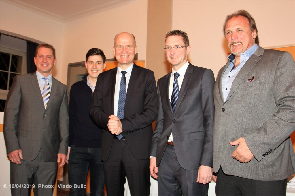 CDU Neureut trifft Ralph Brinkhaus